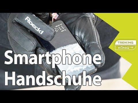 Smartphone-Handschuhe im Vergleich