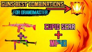 BEST GUN COMBINATION FOR GRANDMASTER - #JONTYGAMING - GARENA FREEFIRE BATTLEGROUND