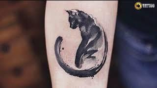 Best Cat Tattoo Design Idea
