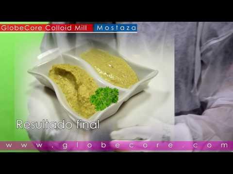 Molinos coloidales para la producción de salsas y cremas: mostaza, mayonesa, kétchup, crema de maní