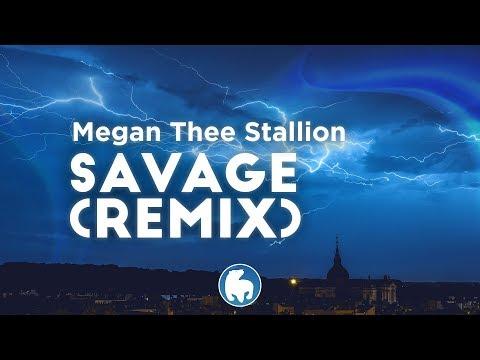Megan Thee Stallion, Beyoncé - Savage (Remix) (Clean - Lyrics)