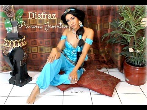 Princesa Jasmin  Disfraz / Como hacer el disfraz y baile