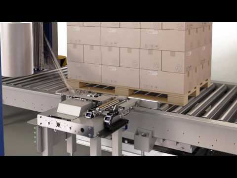 High Speed Fully Automatic Pallet Stretch Wrapping Machine