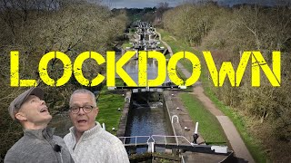Lockdown! Hatton Locks by Narrowboat on the Grand Union Canal.