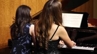 Three Pieces for Four Hands (Allegretto grazioso)
