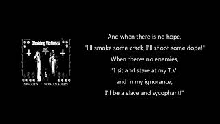 Choking Victim - 500 Channels (lyrics)