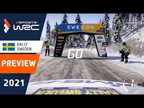 E-sports WRC2021 スウェーデン プレビュー動画2