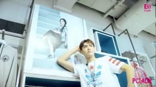 [Eng sub] 150709 Wu Yi Fan Kris x Adidas Originals interview + behind the scenes
