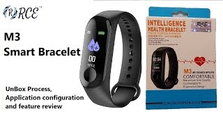 """M3 Smart Band Quick setup """"Yoho Sports"""" and Feature review"""