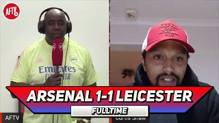 Arsenal 1-1 Leicester | It Was 100% A Red Card! (Curtis)