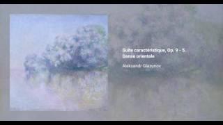 Suite caractéristique, Op. 9