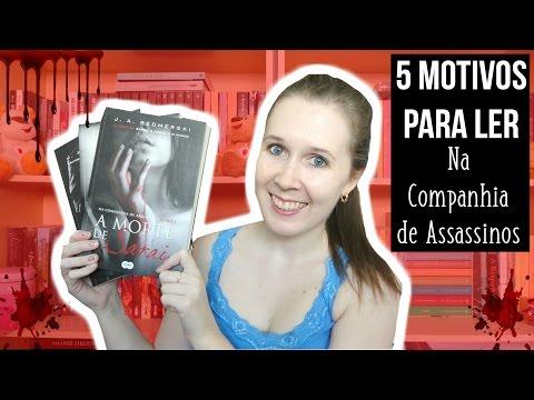 Veda #8 | 5 motivos para ler Na Companhia de Assassinos | Leituras de Deni