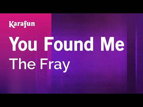 The Fray How To Save A Life Karaoke Instrumental Acoustic Piano