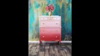 Furniture Makeover/chalk Paint Style Furniture/Country Chic Paint