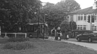preview picture of video 'Bus Observations in Ealing Black and White 2'
