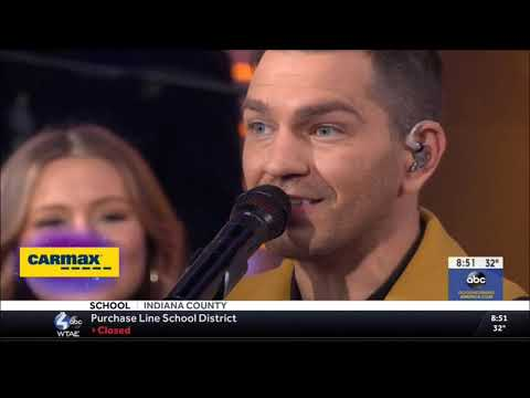 """Andy Grammer sings """"Don't Give Up On Me"""" Live Concert Performance 2019 HD 1080p"""