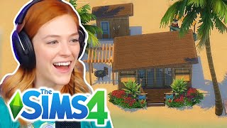 Single Girl Builds Her Dream Quarantine Tiny Home In The Sims 4