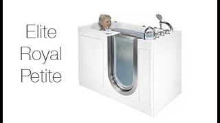 Hydro Massage & Infusion™ MicroBubble Therapy Package Walk-In Tubs Elite, Royal & Petite Video