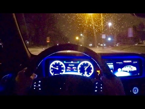 What It's Like To Drive A '16 Mercedes S550 (Night POV Drive)