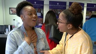 video: A-level results day 2019: Top grades fall to their lowest level in more than a decade