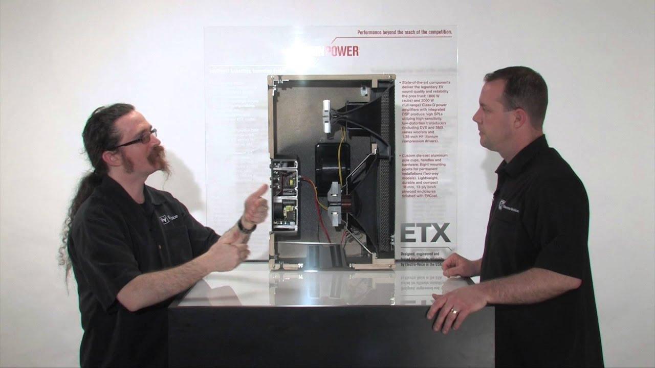 Etx 35p 15 Powered 3way Loudspeaker By Electrovoice Power Amplifier 2000 Watt Schematic Design Sst Tutorial