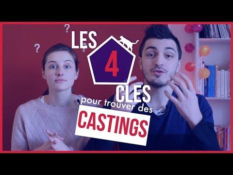 4 clefs pour trouver des castings !
