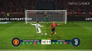 MANCHESTER UNITED vs JUVENTUS FC   Penalty Shootout   PES 2019 Gameplay PC