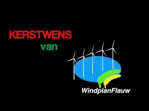 Actiegroep Swifterbant verpakt bezwaren tegen windmolenverlichting in 'ludieke kerstwens'