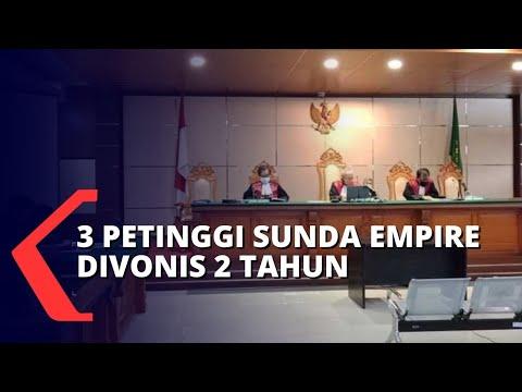 petinggi sunda empire divonis tahun lebih ringan dari tuntutan jaksa