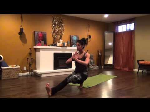 "30 min. ""Get Lit"" Creative Vinyasa Yoga Flow for Core"