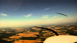 preview picture of video 'Kitchener to Kincardine in a Cessna'