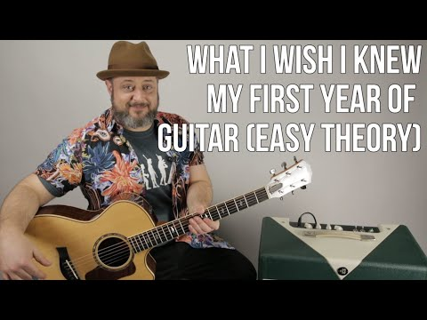 What I Wish I Knew My First Year Of Playing - Guitar Chord Theory