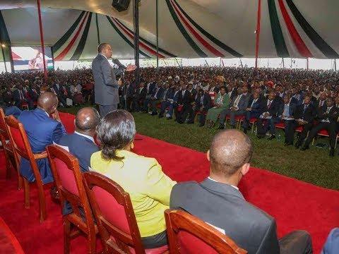 President Uhuru Kenyatta's speech during his meeting with Kamba leaders