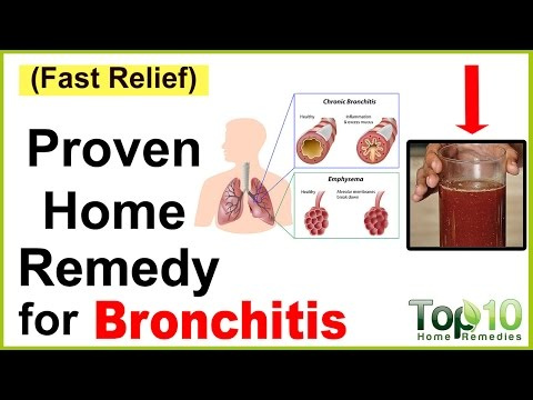 Video A Quick Home Remedy for Bronchitis