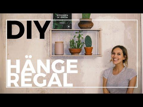Wandregal selber bauen | DIY | schlicht und elegant