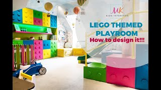The Lego Playroom || London Childrens Interior Designer || MK Kids Interiors