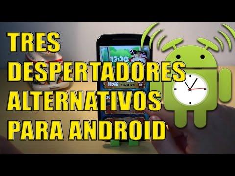 Tres despertadores alternativos para Android: RadioAlarm, SpinMe, DespertadorKamikaze