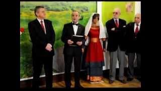 preview picture of video 'Czerwień - gród między Wschodem a zachodem - otwarcie wystawy (Tomaszów Lubelski 28.11.2012)'