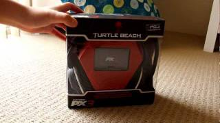 UNBOXING: Turtle Beach Earforce PX3 Wireless Gaming Headset