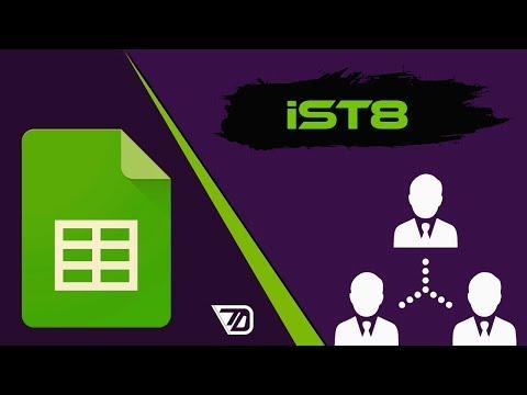 Таблица для привлечения партнёров в IST8