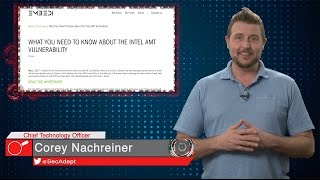 Intel AMT Vulnerability - Daily Security Byte