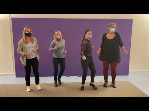 European Stroke Organization get the Global Dance Chain started in Europe