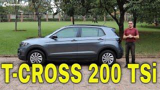 Avaliação: Volkswagen T-Cross 200 TSI manual 2021