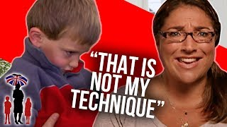 Jo Fixes Mom's Made Up Version of Timeout | Supernanny