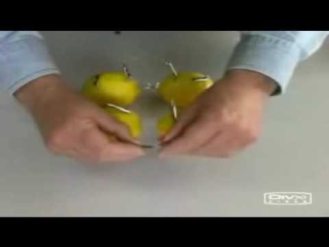 صنع بطارية من حبة ليمون
