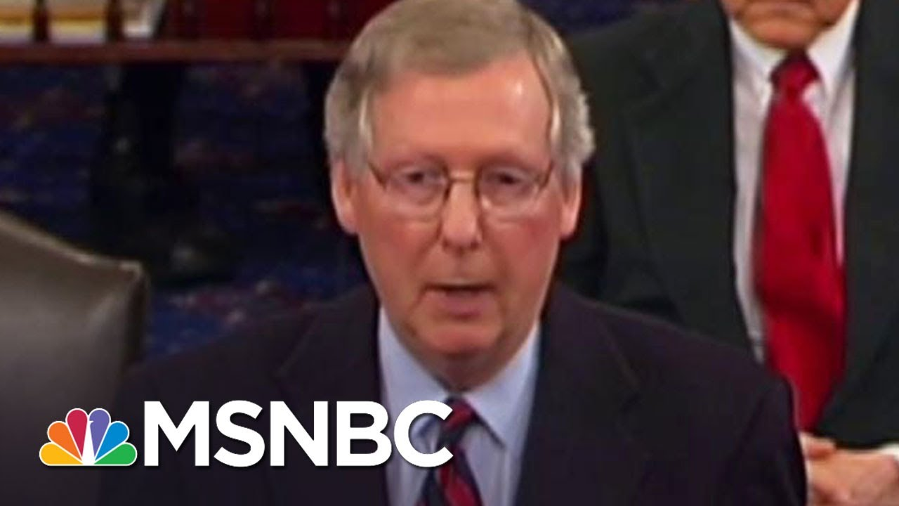 GOP Health Care Bill Authors Blasted Dems For Secrecy In 2009 | The 11th Hour | MSNBC thumbnail