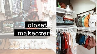 EXTREME Closet Organization & Makeover // Before & After Tour | XO, MaCenna
