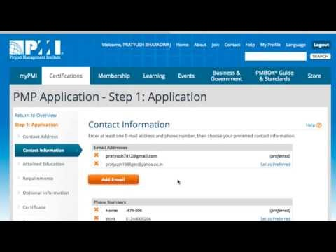 OLD -how to fill PMP application including detailed project ...