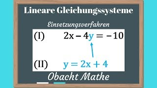 lineare gleichungen mit zwei variablen aufgabe (Mathe, lineare ...