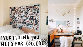 What To Bring To College Packing List // Dorm Packing List // Michigan State University